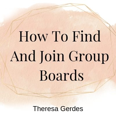 How to Find and Join Group Boards On Pinterest