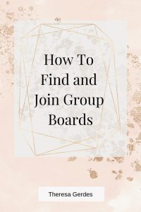 Are you looking for group boards on Pinterest to grow your Pinterest presence? Follow this process for finding and joining group boards in your niche.